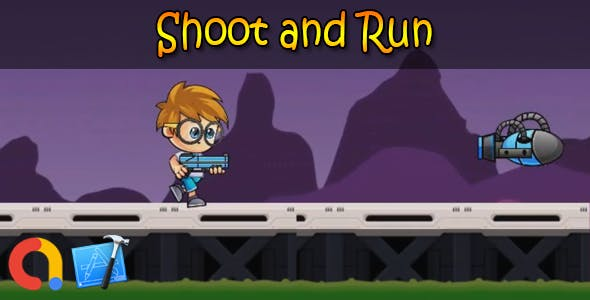 Shoot and Run - iOS Xcode 10 + Admob