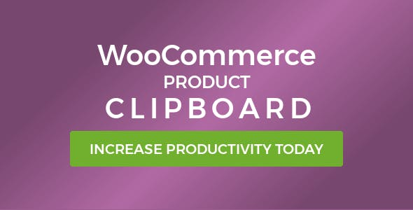 WooCommerce Product Clipboard