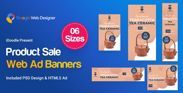 Product Sale Banners HTML5 D42 Ad