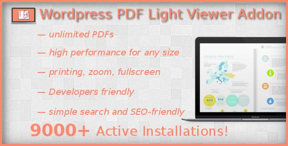 PDF Light Viewer PRO Addon