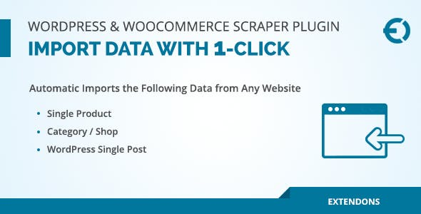 WordPress & WooCommerce Scraper Plugin, Import Data from Any Site