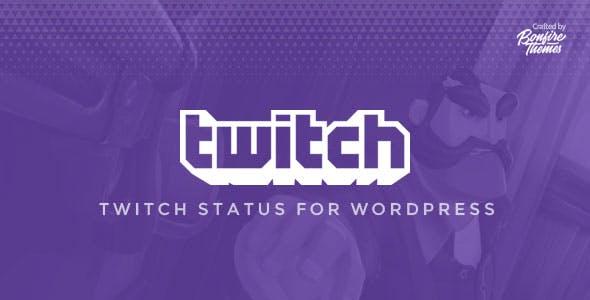 Twitch Status for WordPress