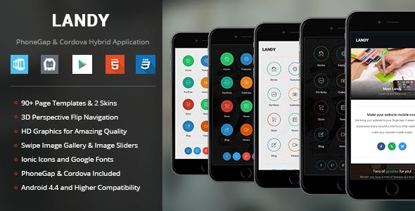 Landy | PhoneGap & Cordova Mobile App