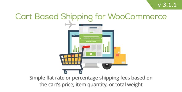 WooCommerce Cart Based Shipping        Nulled