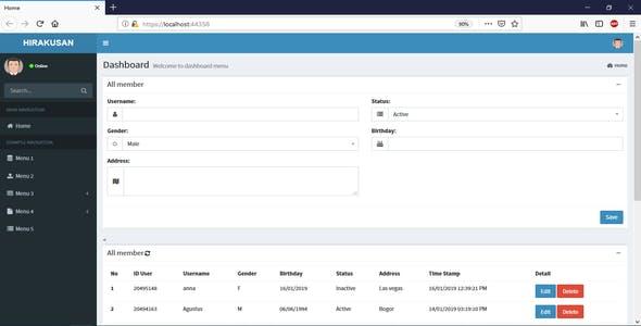 Asp.net Core Easy CRUD MVC
