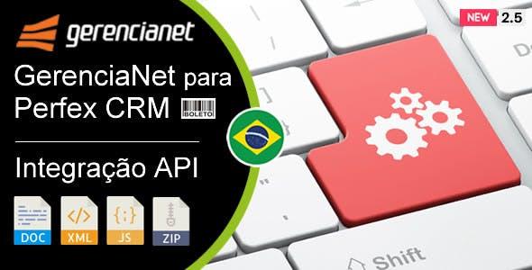 Weboox Plugin - GerenciaNet para Perfex CRM (API)