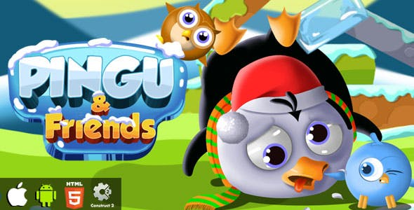 Pingu & Friends - HTML5 Game (CAPX)