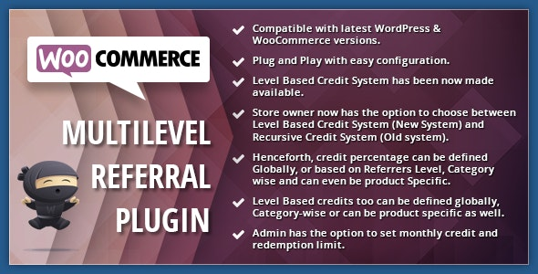 WooCommerce Multilevel Referral Affiliate Plugin - CodeCanyon Item for Sale