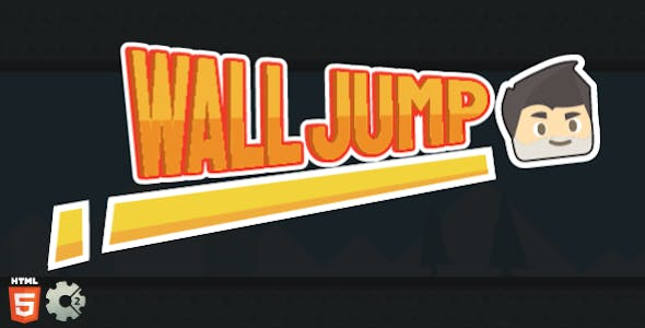 Wall Jump - HTML5 Game - Construct2