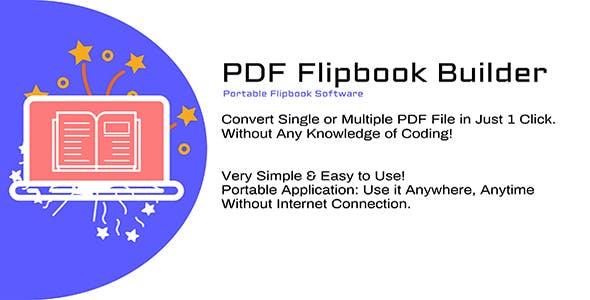 PDF Flipbook Builder - 1 Click Build