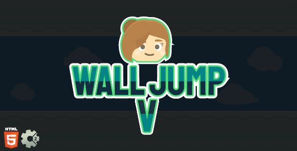 Wall Jump V - HTML5 Game