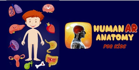 HumanAR Anatomy for Kids