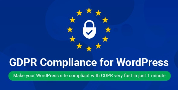 WordPress GDPR Compliance 2020 - CodeCanyon Item for Sale