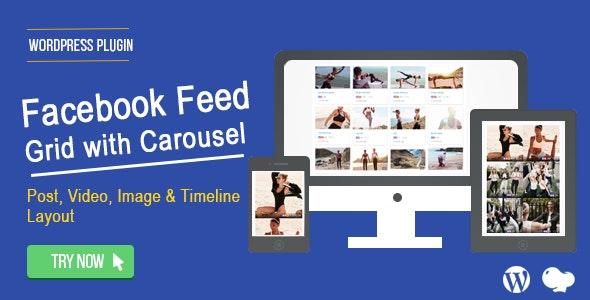 Wordpress Facebook Feed Plugin by Saraagna