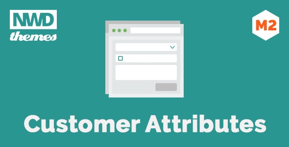 Magento 2 Customer Attributes - CodeCanyon Item for Sale