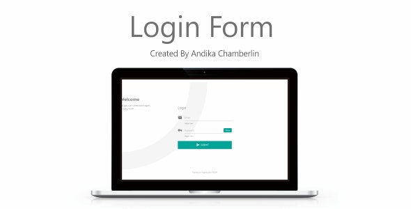 Form Login - CodeCanyon Item for Sale