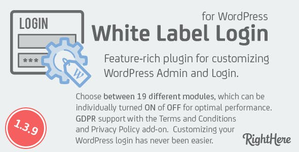 White Label Login for WordPress
