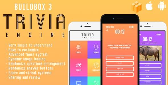 Trivia Engine - A Builbox 3 Trivia & Quiz Template