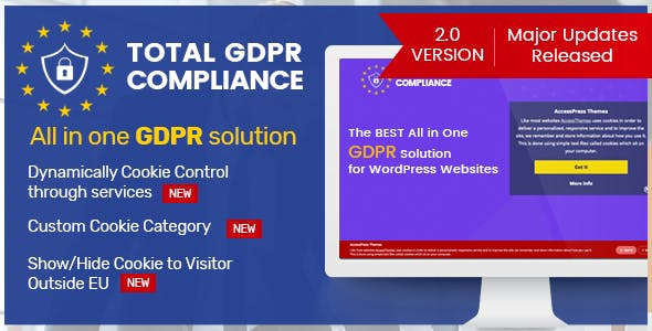 Total GDPR Compliance - WordPress Plugin for GDPR Compatibility