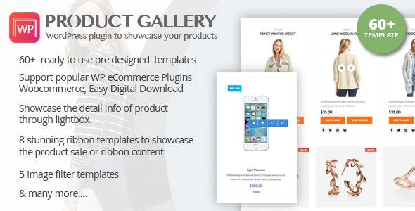Wp Product Gallery Responsive Products Showcase Listing