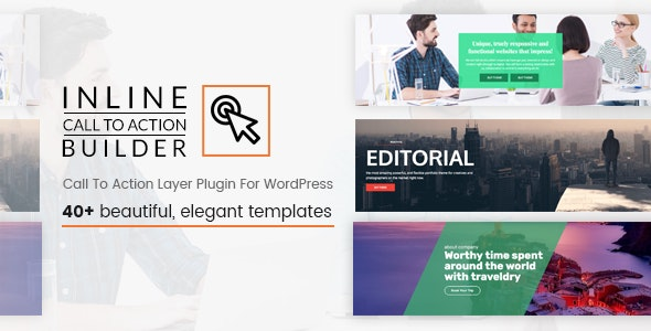Inline CTA Builder - Call To Action Layer For WordPress - CodeCanyon Item for Sale