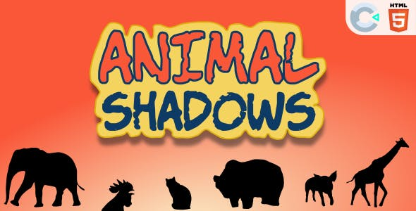 Animal Shadows - HTML5 Educational Game