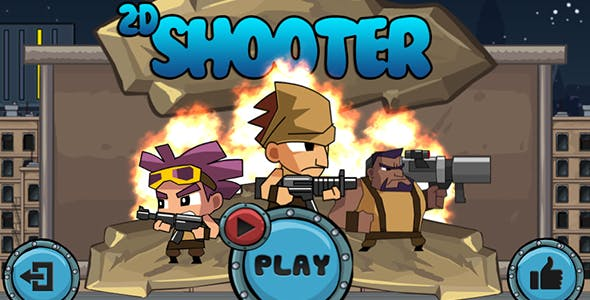 2D Shooter Game