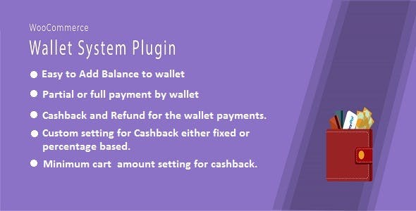 WooCommerce Wallet And Cashback Plugin