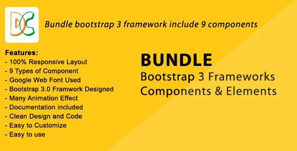 Bundle - Bootstrap 3 Frameworks Components - CodeCanyon Item for Sale