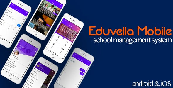 Eduvella Mobile Application - Android & iOS
