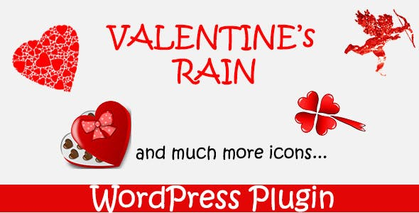 Valentines Rain - WordPress Plugin