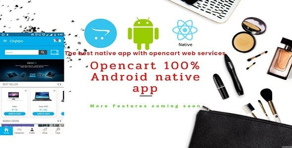 Opencart 100% native Android APP
