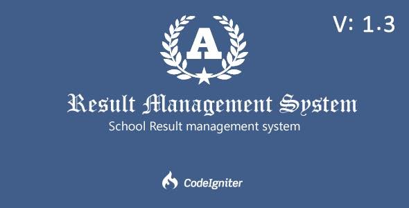 Result Management  System