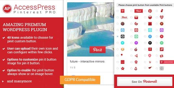 AccessPress Pinterest Pro - Pinterest Plugin for WordPress - CodeCanyon Item for Sale