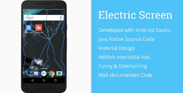 Electric Screen Prank (AdMob + Material Design)