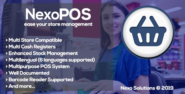 NexoPOS - Extendable PHP Point of Sale - CodeCanyon Item for Sale