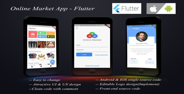 Online Shopping App - Flutter - CodeCanyon Item for Sale