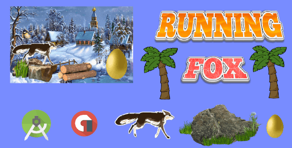 Running Fox Android Game App
