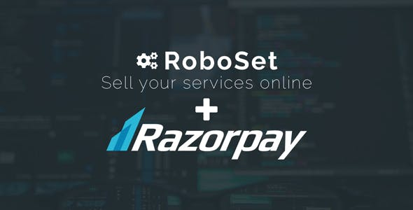 Roboset Integration with Razorpay Payment Gateway