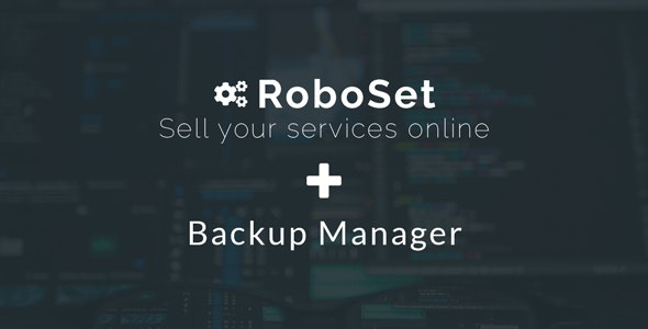 Backup Manager for RoboSet - CodeCanyon Item for Sale