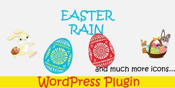 Easter Rain - WordPress Plugin