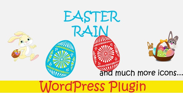 Easter Rain - WordPress Plugin - CodeCanyon Item for Sale