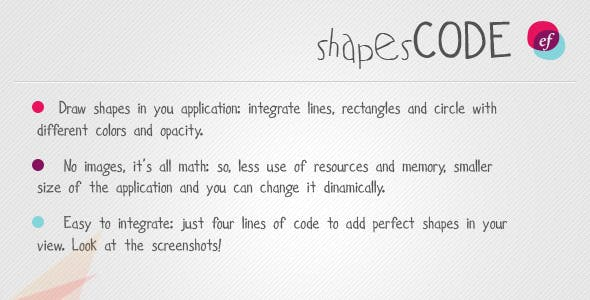 Shapes Code - resource for iPhone / iPad