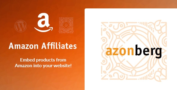 Azonberg - Gutenberg Amazon Affiliates Embed - CodeCanyon Item for Sale