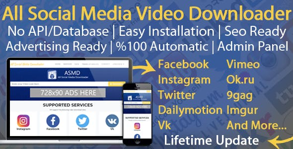 All Social Media Video Downloader V4