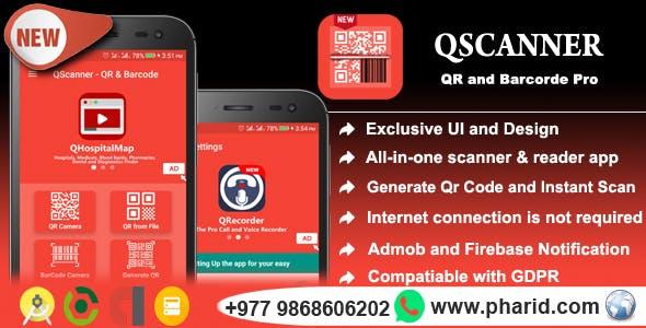 QScanner - QR & Barcode Pro