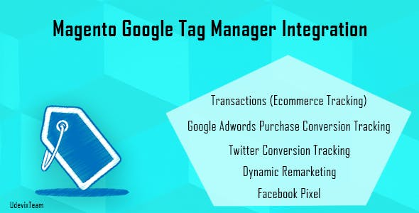 Magento Google Tag Manager Integration