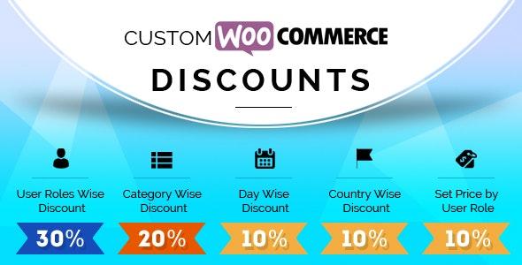 Custom Woocommerce Discounts - CodeCanyon Item for Sale