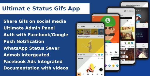 Ultimate Status Gif App
