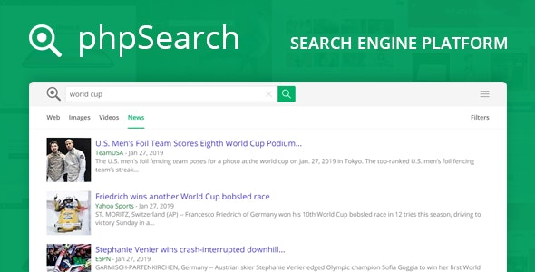 phpSearch - Search Engine Platform - CodeCanyon Item for Sale
